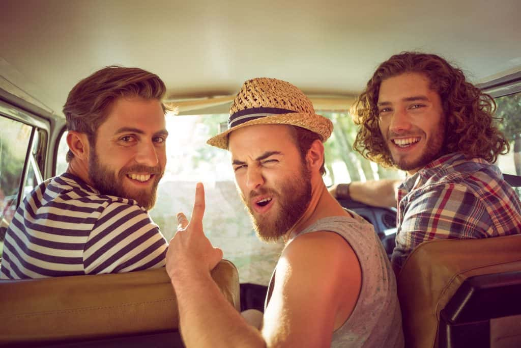 Cuba Vacation Package - Hipster Friends on Road Trip