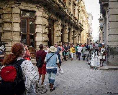 Calle Obispo Havana Cuba
