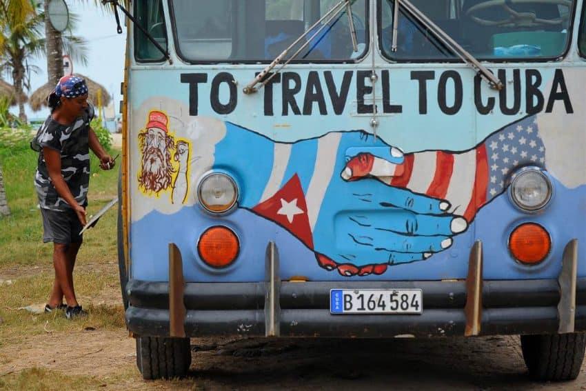 Cuba travel tips - US Cuba wagon