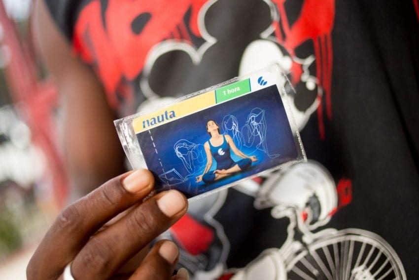 Wifi in Cuba - NAUTA Card