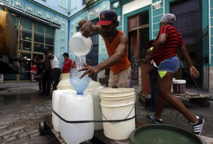 Is Cuba Safe - Water shortage