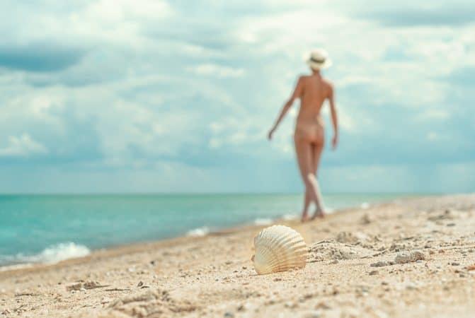 Nude Beach in Cuba